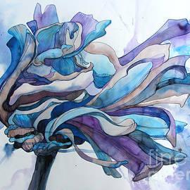 Wendy Westlake - Blue Zinnia