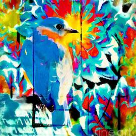 Tina LeCour - Bluebird Pop Art