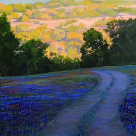 Nancy Paris Pruden - Bluebonnet Sunrise