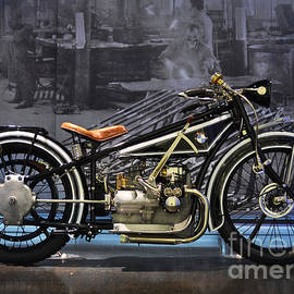 Mary Machare - BMW Vintage Motorcycle