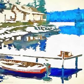 Catherine Lott - Boat And Dock Scene