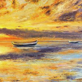 Boyan Dimitrov - Boat and sunset
