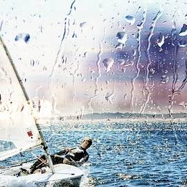 Jean Francois Gil - Boat on the Sea
