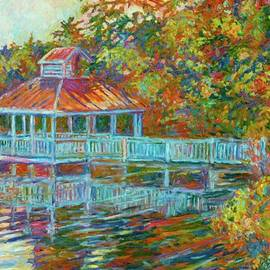Kendall Kessler - Boathouse at Mountain Lake