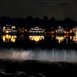 Bill Cannon - Boathouse Row After Dark