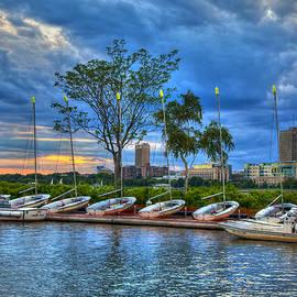 Joann Vitali - Boating on the Charles River - Boston