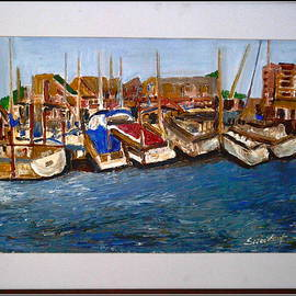 Anand Swaroop Manchiraju - Boats at rest