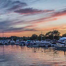 Joann Long - Boats at Sunset