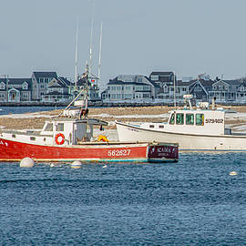 Brian MacLean - Boats in Scituate Harbor