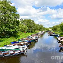 Boats on The lakes of Killarney