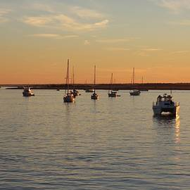 Cynthia Guinn - Boats On The Water