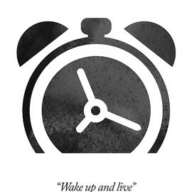 Bob Marley Quote - Wake Up And Live - Aged Pixel