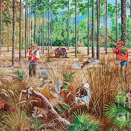 Daniel Butler - Bobwhite Quail Hunting- Florida Style