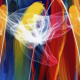 Bold Colors Modern Abstract Art - Lourry Legarde