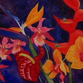 Kerri Ligatich - Bold Tropical Flowers