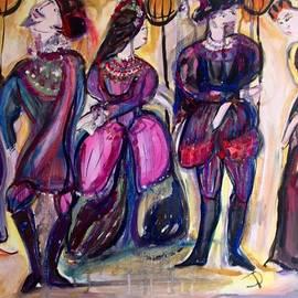 Judith Desrosiers - Bold Tudor party