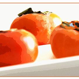Gretchen Wrede - Boldly Orange Persimmons