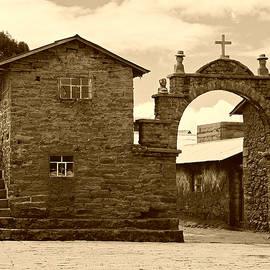 Trude Janssen - Bolivian Church in Sepia