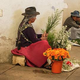 Venetia Featherstone-Witty - Bolivian Flower Sellers
