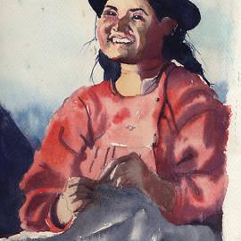 Gertrude Palmer - Bolivian Seamstress