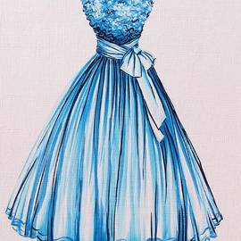 Cheri Miller - Bonnie Blue Fashion Illustration