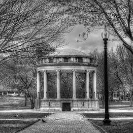 Joann Vitali - Boston Common Rotunda - Black and White Square