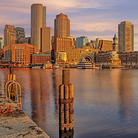 Susan Candelario - Boston Habor Sunrise