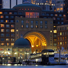 Juergen Roth - Boston Harbor Hotel Arch and Rotunda