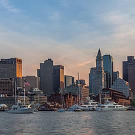 Brian MacLean - Boston Harbor Sunset