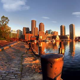 Boston Harborwalk Sunrise