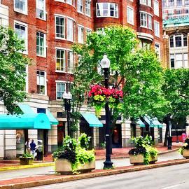 Susan Savad - Boston MA - Shops Along Boyleston Street