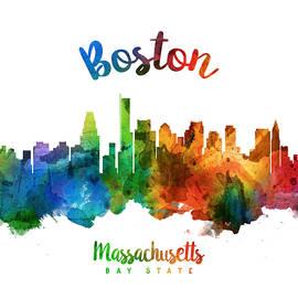Boston Massachusetts 25 - Aged Pixel