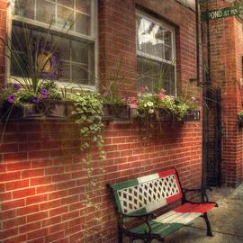 Joann Vitali - Boston North End Charm - Benches