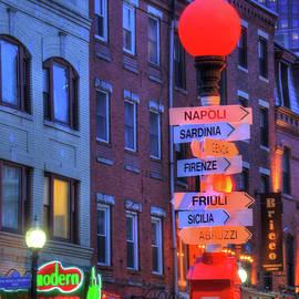 Joann Vitali - Boston North End - Hanover Street