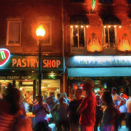 Joann Vitali - Boston North End Nights Modern Pastry - Hanover Street