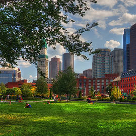 Joann Vitali - Boston North End Parks - Rose Kennedy Greenway