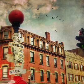Joann Vitali - Boston North End - VintageArt