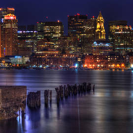 Jeff Stallard - Boston Skyline at Night 437
