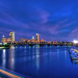 Joann Vitali - Boston Skyline at Night