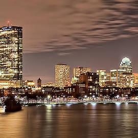 Karen Regan - Boston Skyline at Night