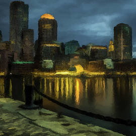 David Dehner - Boston Skyline