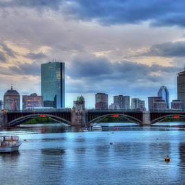 Joann Vitali - Boston Skyline on the Charles River at Dusk