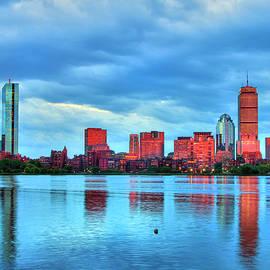 Joann Vitali - Boston Skyline Sunset - Back Bay