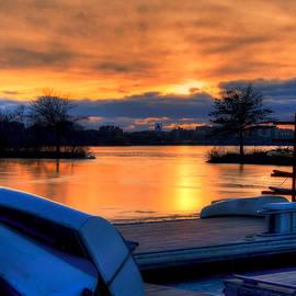 Joann Vitali - Boston Sunset over the Charles River