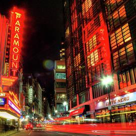 Joann Vitali - Boston Theatre District at Night