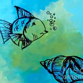 Jilian Cramb - AMothersFineArt - Bottomless Blue