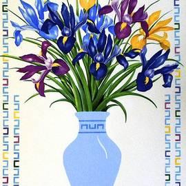 Jan Law - Bouquet of Irises