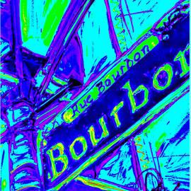 Paula   Baker - Bourbon Street in Blue