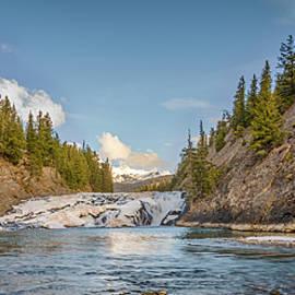Yves Gagnon - Bow Falls Banff National Park
