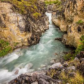 Yves Gagnon - Bow Glacier Canyon Banff National Park